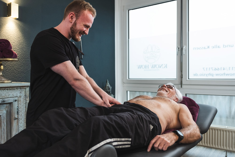 Know How Physiotherapie - Krankengymnastik (KG)